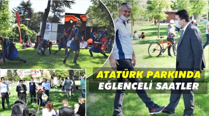 PARKTA ŞENLİK VAR