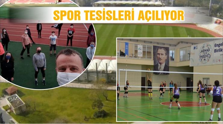 TESİSLER ŞARTLI AÇILIYOR