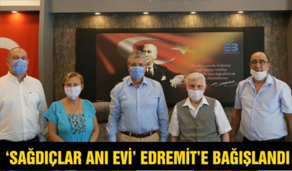 EDREMİT'E YENİ ANI EVİ EKLENDİ