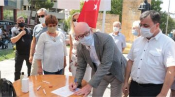 CHP İMZA KAMPANYASI DEVAM EDİYOR