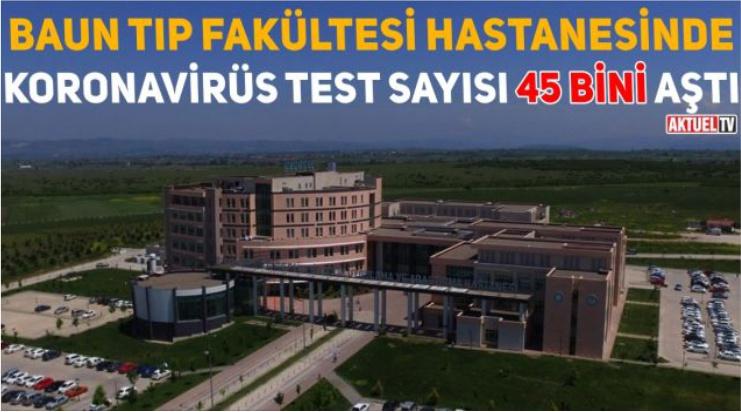 KORONAVİRÜS TEST SAYISI 45 BİNİ AŞTI