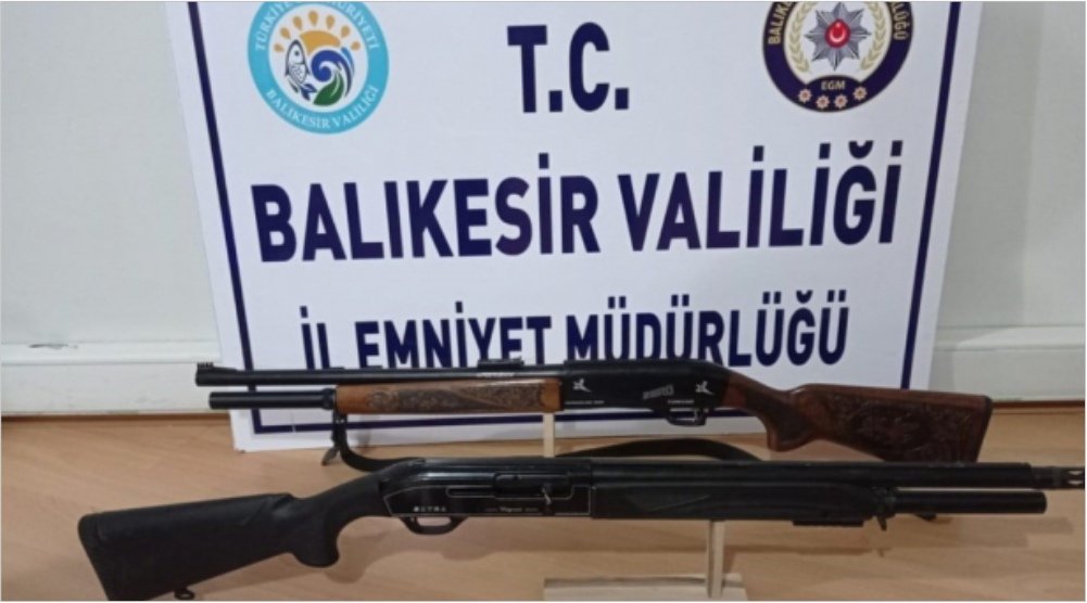 BALIKESİR POLİSİ ARANAN 57 KİŞİYİ YAKALADI