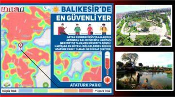 Balıkesir'de en güvenli yer Atatürk Parkı