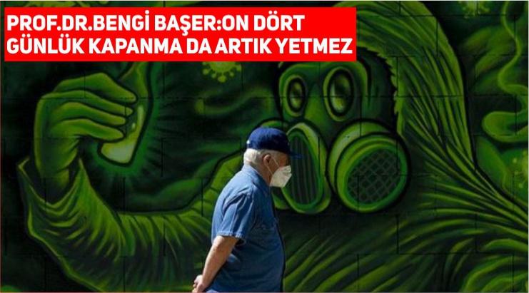 """PROF.DR.BAŞER """"TÜRKİYE'DE SALGIN TSUNAMİ GİBİ"""""""