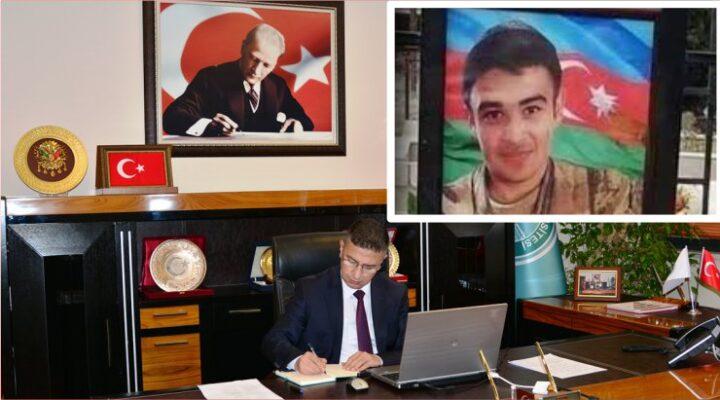 Baün'den Karabağ'da Şehit Düşen Öğrencisine Şükran Beratı