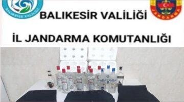 KEPSUT JANDARMADAN KAÇAK İÇKİ OPERASYONU
